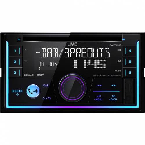 JVC KW-DB93BT Autoradio