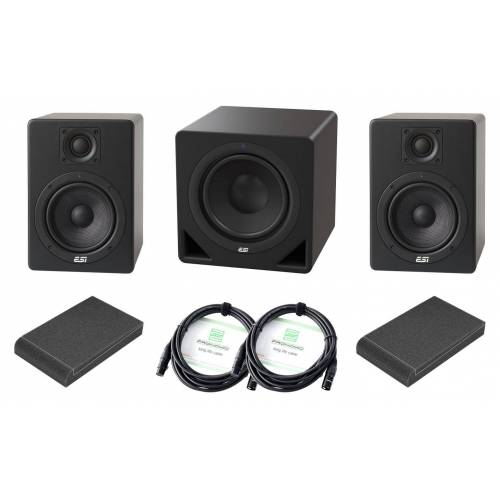 ESI Audiotechnik ESI Aktiv 05 / Aktiv 10s Studio 2.1 Set