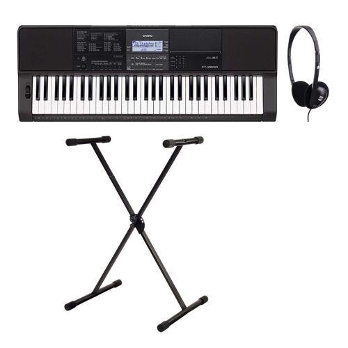 Casio CT-X800 Midi Keyboard Set inkl. Keyboardständer & Kopfhörer