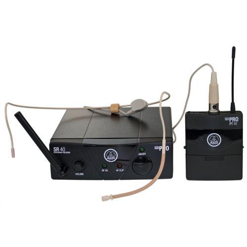 AKG WMS 40 Mini Sport Funk Headset ISM1 863,100 MHz