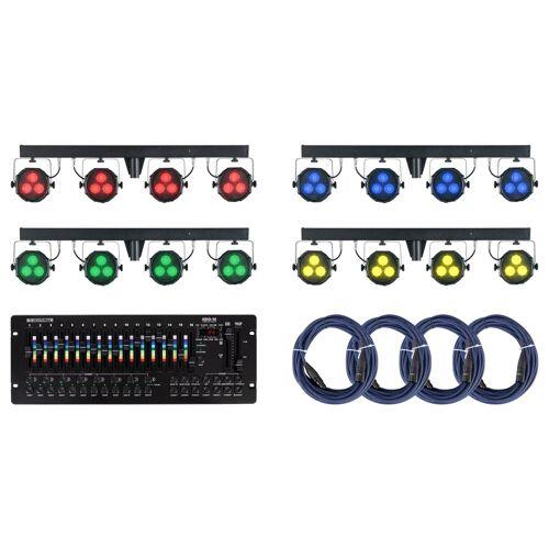 Showlite LB-427 LED RGB Gastronomie Set