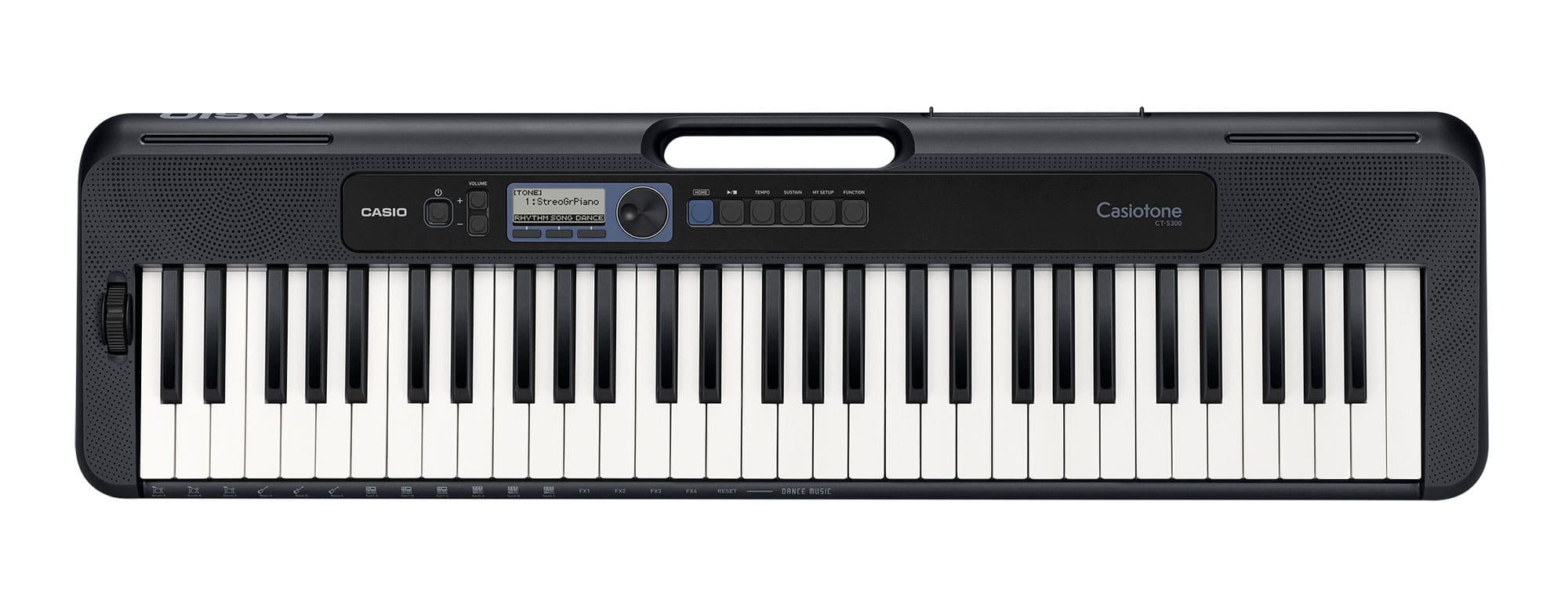 Casio CT-S300 Keyboard Schwarz