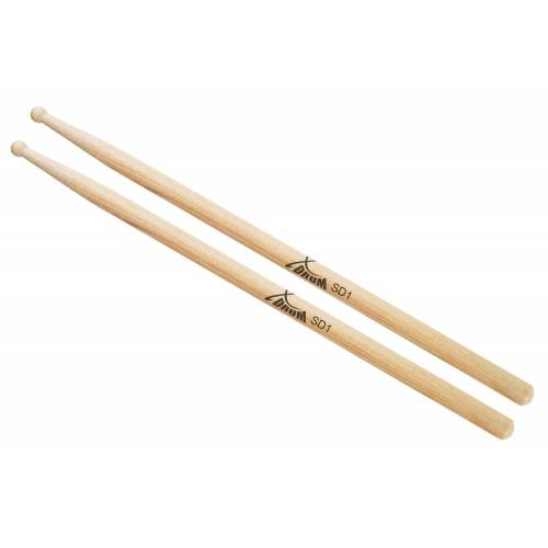 XDrum Schlagzeug Sticks SD1 Wood Tip