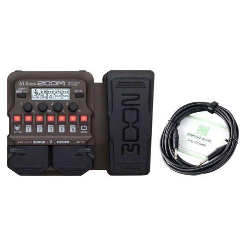 Zoom A1X FOUR Multi-Effektpedal Kabel Set