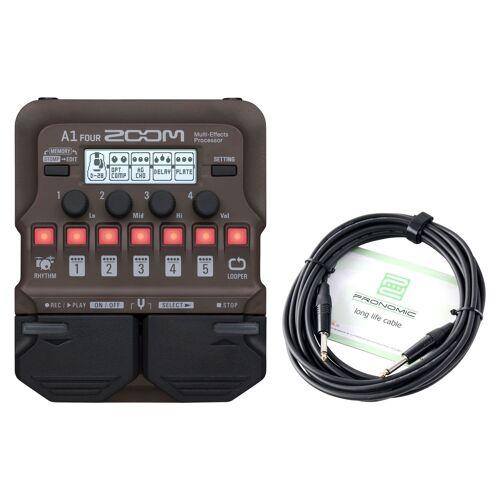 Zoom A1 FOUR Multi-Effektpedal Kabel Set