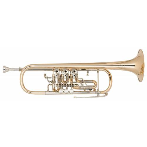 Miraphone Bb-9R Zylindertrompete Goldmessing