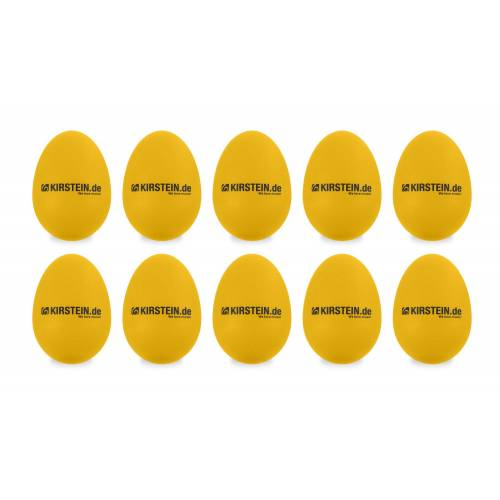 Kirstein 10x Kirstein ES-10Y Egg Shaker gelb Heavy Set