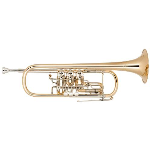 Miraphone Bb-11 Trompete Goldmessing