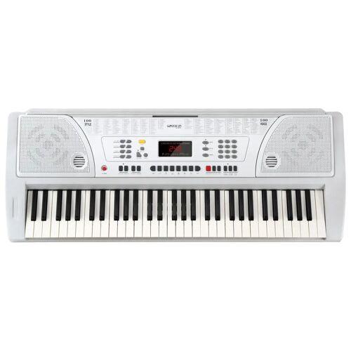 FunKey 61 WH Keyboard inkl. Netzteil und Notenhalter Weiß