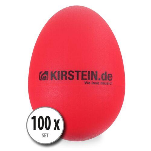 Kirstein 100x Kirstein ES-10R Egg Shaker rot Light Set