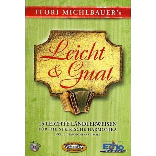 Michlbauer Verlag Michlbauer Leicht & Guat - 15 leichte Ländlerweisen inkl. CD