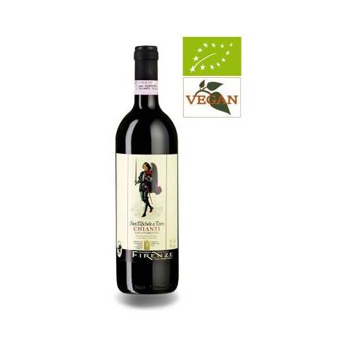 Bio-Weinkiste San Michele a Torri Chianti Colli Fiorenti DOCG 2018 Rotwein Biowein