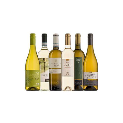 Bio-Weinkiste Bio- Weißweinkiste Europa / 6 Flaschen