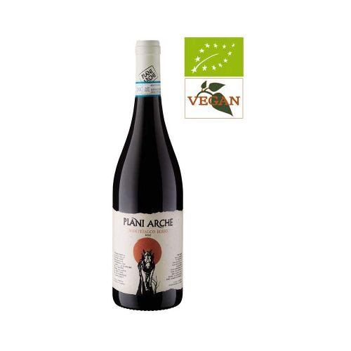 Bio-Weinkiste Plani Arche Montefalco Rosso DOC Montefalco 2017 Rotwein Biowein