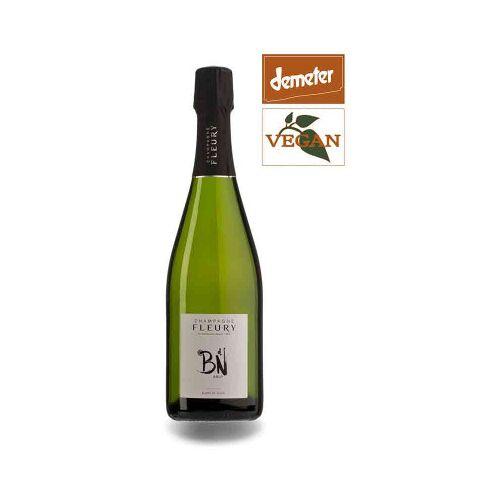 Bio-Weinkiste Bio Champagne Fleury Blanc de Noir ACO Champange
