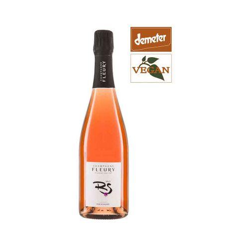 Bio-Weinkiste Bio Champagne Fleury Rosé ACO Champagne