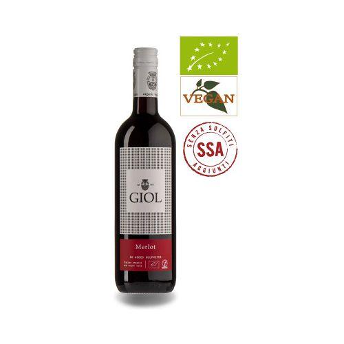 Bio-Weinkiste GIOL Merlot SSA, IGT Veneto 2020 Rotwein Biowein