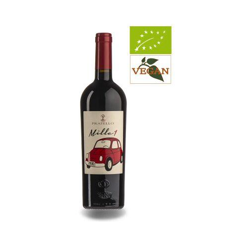 Bio-Weinkiste Pratello Mille 1 , Vino 2018 Rotwein Bio