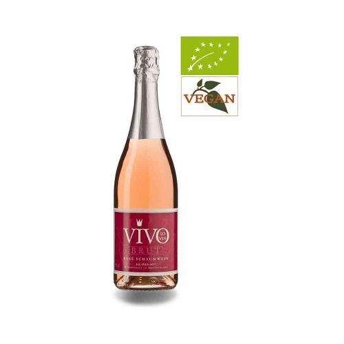 Bio-Weinkiste VivoLoVin brut Rosé Schaumwein
