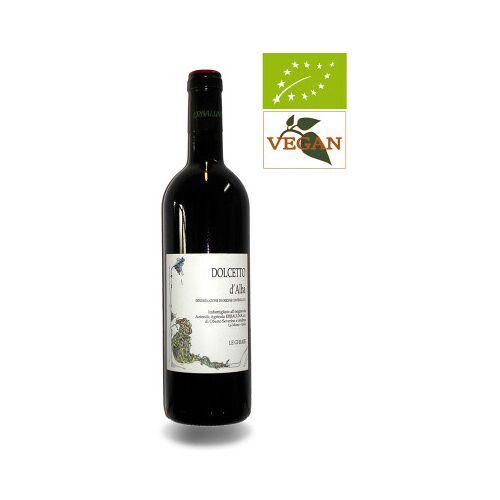 Bio-Weinkiste Erbaluna Dolcetto d Alba Le Liste, DOC 2018 Rotwein Biowein