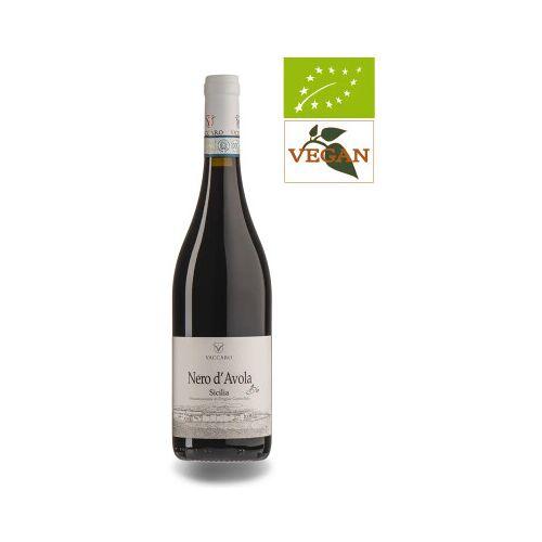 Bio-Weinkiste Nero d'Avola Vaccaro 2019 IGT Terre Siciliane Bio Rotwein