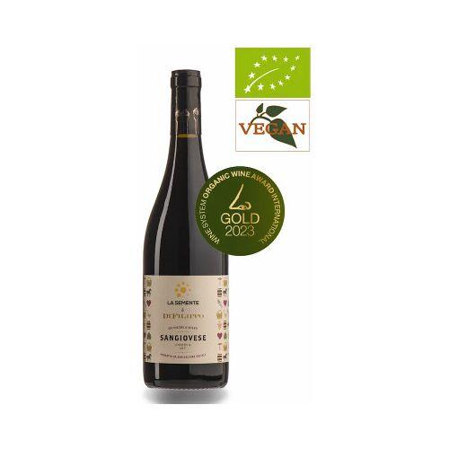 Bio-Weinkiste Sangiovese Umbria DOC 2019 Rotwein Biowein