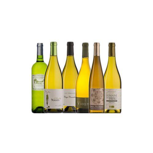 Bio-Weinkiste Bio- Weißweinkiste Frankreich / 6 Flaschen