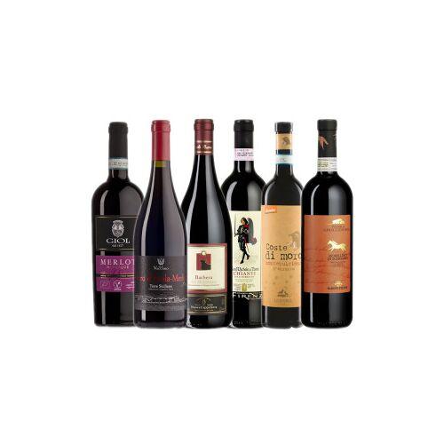 Bio-Weinkiste Bio- Rotweinkiste Italien / 6 Flaschen