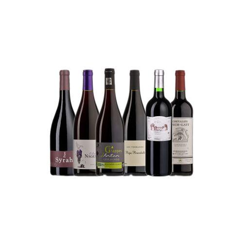 Bio-Weinkiste Bio- Rotweinkiste Frankreich / 6 Flaschen