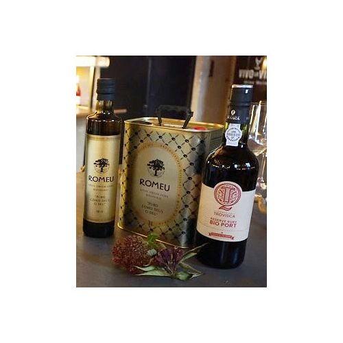 Bio-Weinkiste Bio Olivenöl virgen Quinta 3l Kanister do Romeu