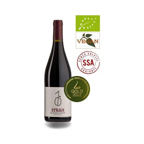 Bio-Weinkiste Pago Casa Gran Syrah SSA D.O. Valencia 2020 Rotwein Bio ungeschwefelt