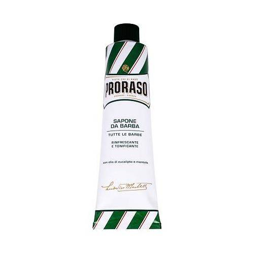 PRORASO Green Shaving Soap In A Tube rasierseife mit menthol und eukalyptus 150 ml für Männer