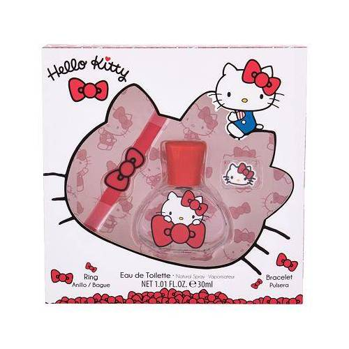Hello Kitty Hello Kitty Set Edt 30 ml + Armband + Ring für Kinder