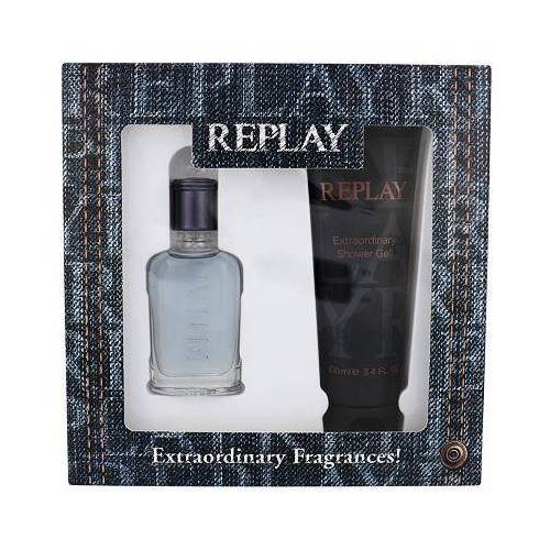 Replay Jeans Spirit! For Him Set EDT 30 ml + Duschgel 100 ml für Männer