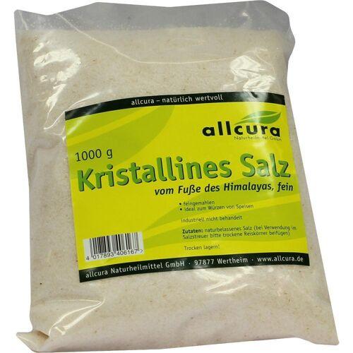 allcura Naturheilmittel GmbH KRISTALLINES Salz v.Fuße d.Himalaya fein gem.