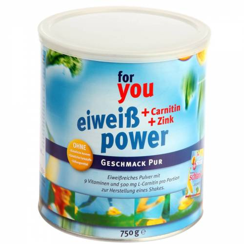 For You eHealth GmbH For you Eiweiß Power Pur