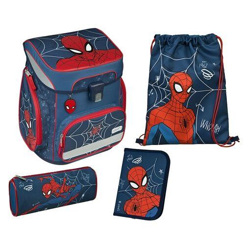 Scooli Easy Fit Schulranzen Set Spider Man