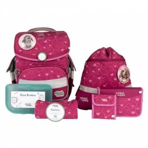 School Mood Timeless Air Plus Schulranzen Set Hanna Hase