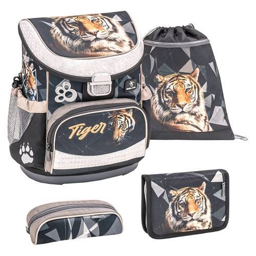 Belmil Mini Fit Schulranzen Set Tiger
