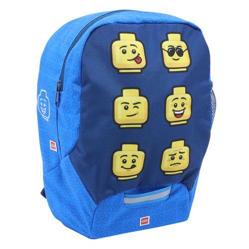Lego Kinderrucksack Faces Blue