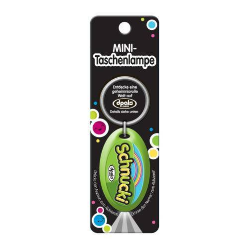 Lizenz Mini Taschenlampe allgemeine Titel Schnucki