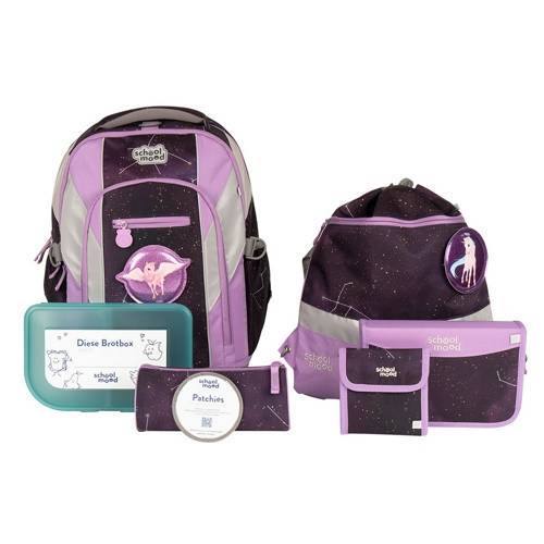 School Mood Loop Air Plus Schulrucksack Set Stella Einhorn