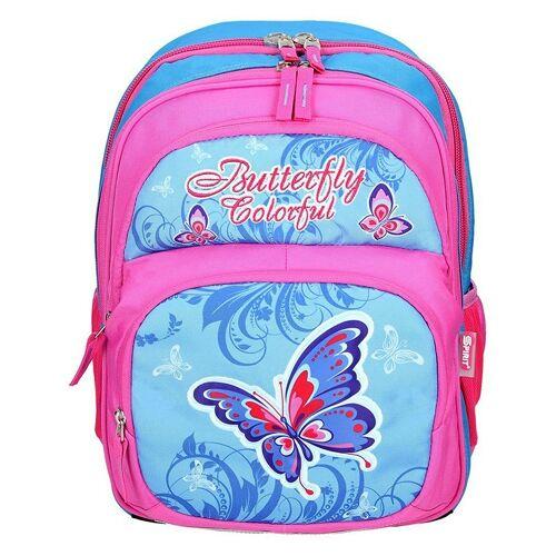 SPIRIT Schulrucksack Kids Butterfly Blue