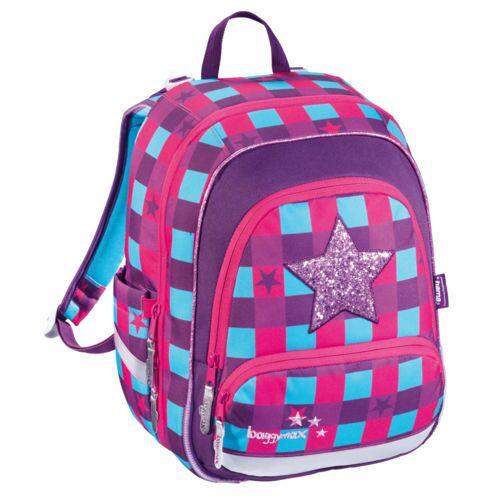 Baggymax Rucksack Speedy Pink Star