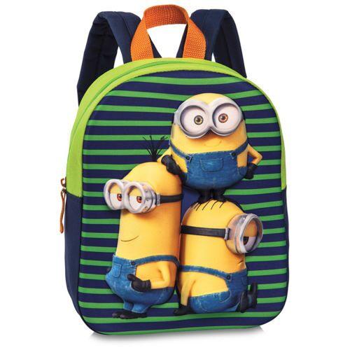 Lizenz Kinderrucksack 3D Minions Minions Grün