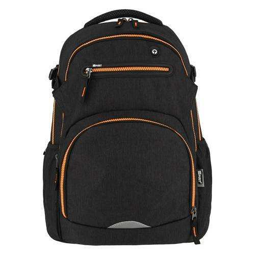 SPIRIT Schulrucksack Stinger Black Orange