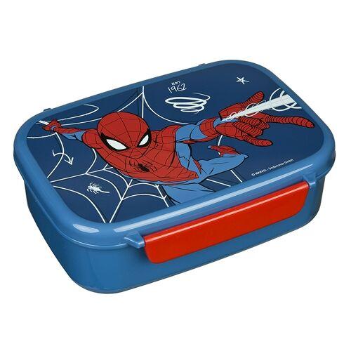 Scooli Brotzeitdose mit Einsatz Spider Man