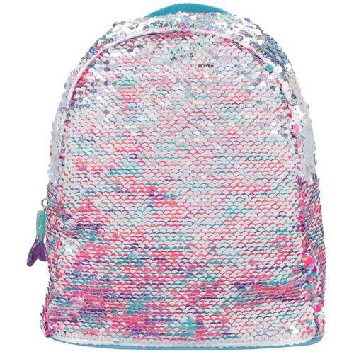 Lizenz TOPModel Kinderrucksack Pailletten Pink Blau