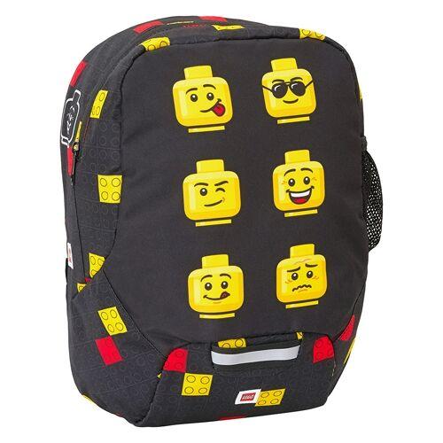 Lego Kinderrucksack Faces Black