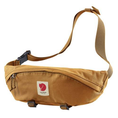 fjaell raeven Bauchtasche Ulvö Hip Pack Large Red Gold